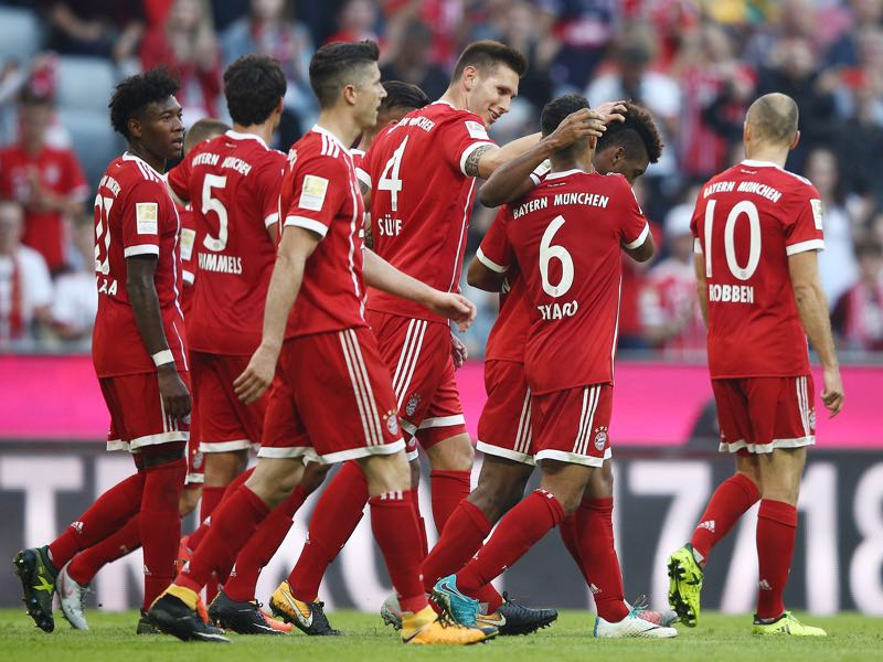 In the end Jupp Heynckes led Bayern to a vintage 5-0 victory over Freiburg.(Photo by Adam Pretty/Bongarts/Getty Images)