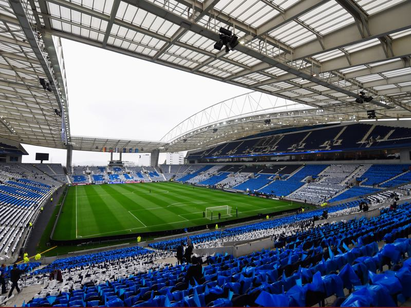 Porto vs Roma will take place at the Estádio do Dragão. (Photo by Mike Hewitt/Getty Images)