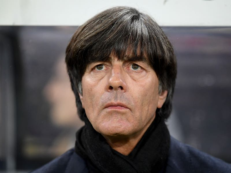 Joachim Löw has been critical about how Bundesliga teams performed in Europe. (Photo by Matthias Hangst/Bongarts/Getty Images)