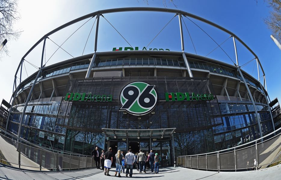 Hannover vs Stuttgart will take place at the HDI Arena in Hannover. (Photo by Stuart Franklin/Bongarts/Getty Images)