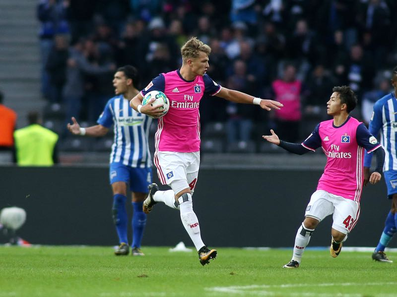 Jann-Fiete Arp is another young and exciting Bundesliga prospect. (Photo by Selim Sudheimer/Bongarts/Getty Images)