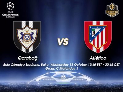 Qarabag vs Atlético Madrid – Champions League Preview