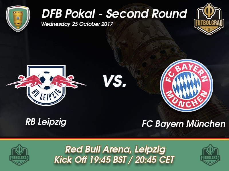 rb leipzig vs bayern m nchen dfb pokal preview fussball stadt. Black Bedroom Furniture Sets. Home Design Ideas