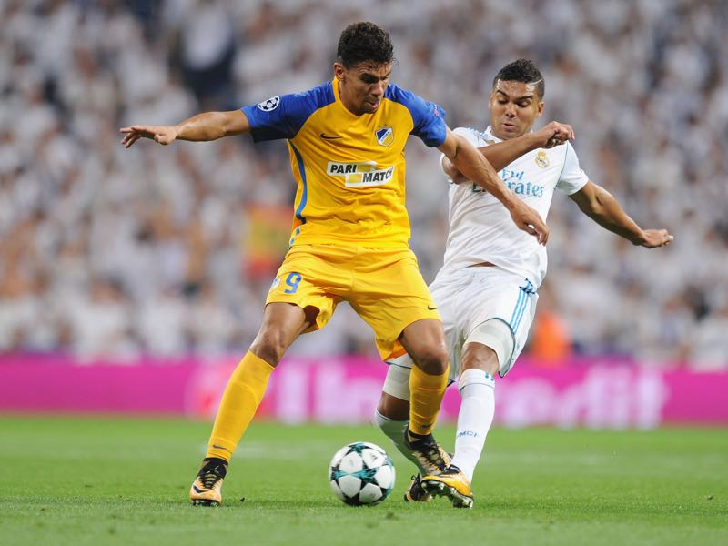 Igor de Carmago will be APOEL's key player. (Photo by Denis Doyle/Getty Images)