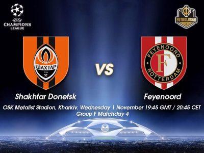 Shakhtar Donetsk vs Feyenoord – Champions League Preview
