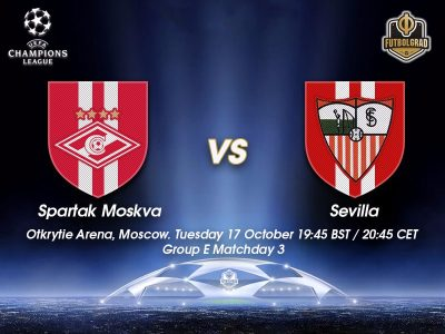 Spartak Moscow vs Sevilla – Champions League Preview