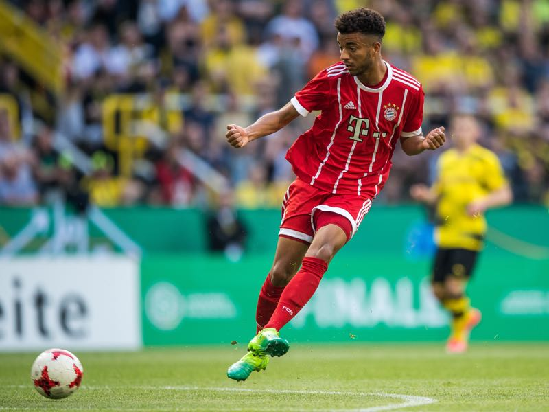 Timothy Tillman is considered one of Bayern's biggest talents. (Photo by Lukas Schulze/Bongarts/Getty Images)