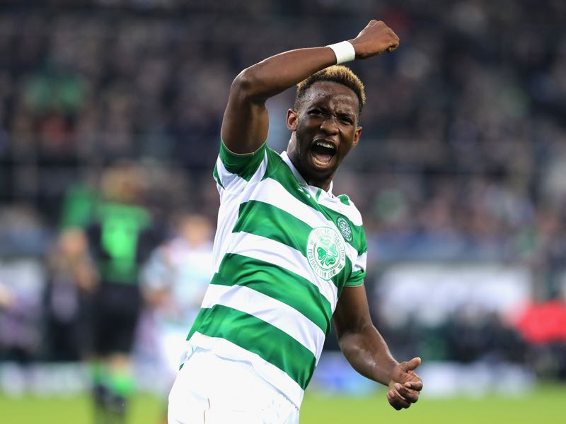 Moussa Dembélé is Celtic's biggest star. (Photo by Simon Hofmann/Bongarts/Getty Images)