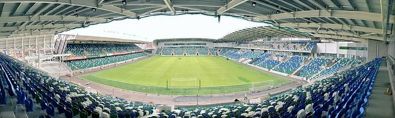 Northern Ireland vs Switzerland will take place at Windsor Park (Citizen69 CC-BY-SA-4.0)