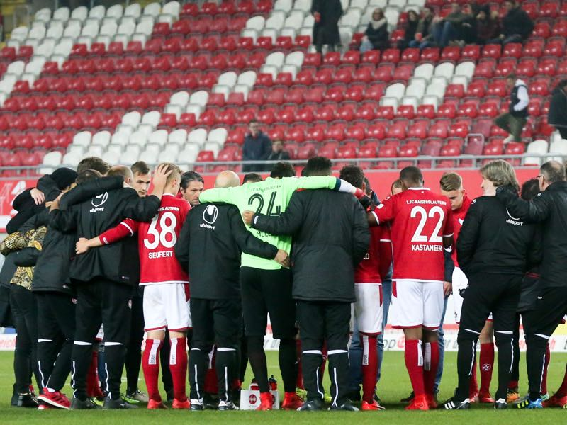 These days 1.FC Kaiserslautern are struggling for survival in Bundesliga 2. (Photo by Andreas Schlichter/Bongarts/Getty Images)