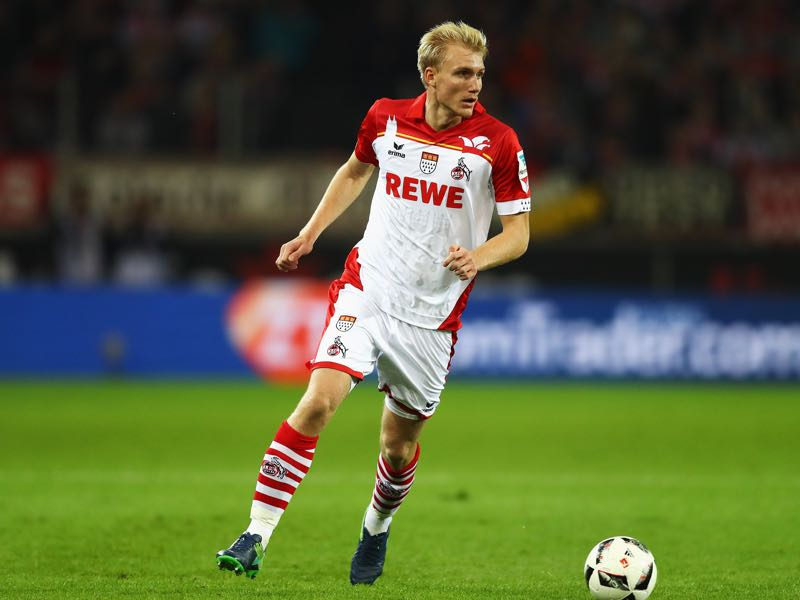 Frederick Sørensen is Köln's key player. (Photo by Dean Mouhtaropoulos/Bongarts/Getty Images)