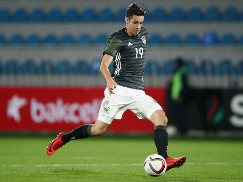 U-21 national team player Florian Neuhaus is our player to watch. (Photo by Alex Grimm/Bongarts/Getty Images)