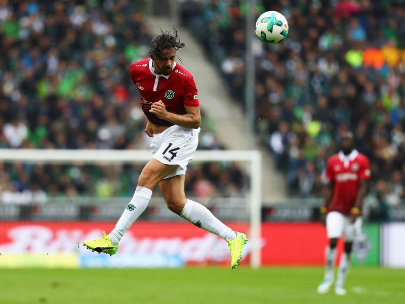 Martin Harnik will be Hannover's player to watch. (Photo by Dean Mouhtaropoulos/Bongarts/Getty Images)