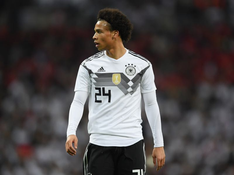 Leroy Sané had a fantastic game against England and will surely feature against France at some point. (Photo by Laurence Griffiths/Getty Images)