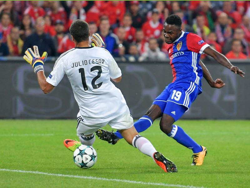 Dimitri Oberlin is FC Basel's most talented player. (FABRICE COFFRINI/AFP/Getty Images)