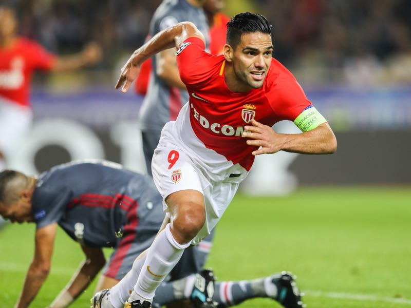 Falcao has been deadly for Monaco once again. (VALERY HACHE/AFP/Getty Images)