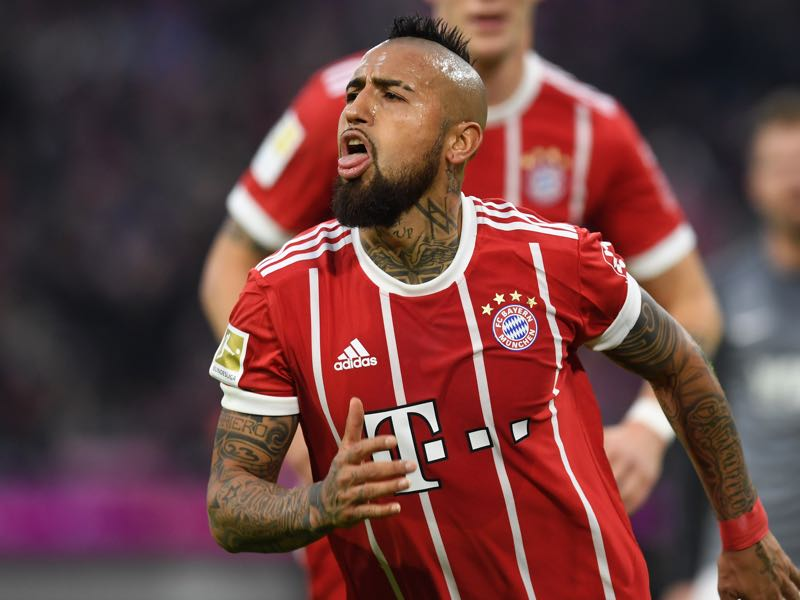 Bayern v Augsburg - Arturo Vidal (CHRISTOF STACHE/AFP/Getty Images)