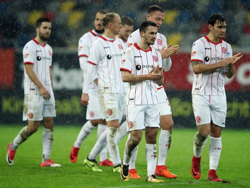 Fortuna Düsseldorf v Dynamo Dresden - Düsseldorf's poor form of late is the biggest talking point after the match. (Photo by Alex Grimm/Bongarts/Getty Images)