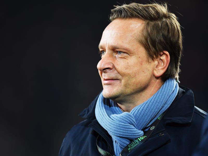 Horst Heldt's potential transfer to Köln was a major talking point ahead of Hannover 96 v VfB Stuttgart (Photo by Stuart Franklin/Bongarts/Getty Images)
