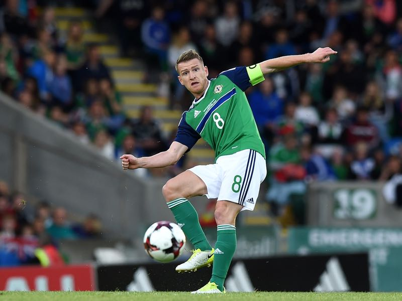Steven Davies will be Northern Ireland's key player. (Photo by Charles McQuillan/Getty Images)