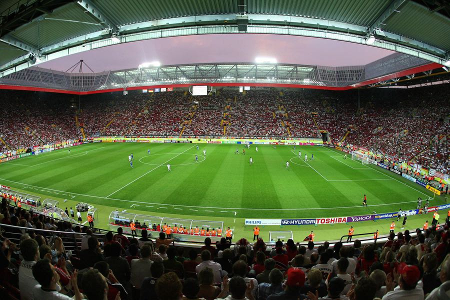 Kaiserslautern's Fritz-Walter Stadion hosted games during the 2006 FIFA World Cup. (VALERY HACHE/AFP/Getty Images)