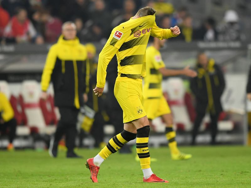 Dortmund are now winless in five games. (Photo by Matthias Hangst/Bongarts/Getty Images)