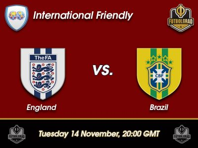 England vs Brazil – International Friendly – Preview