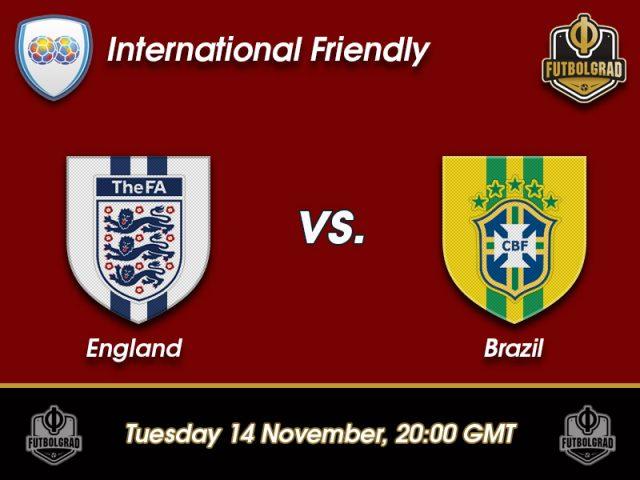 England vs Brazil – International Friendly – Preview