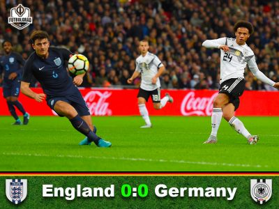England v Germany – Match Report