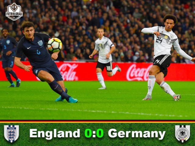England v Germany – Match Report