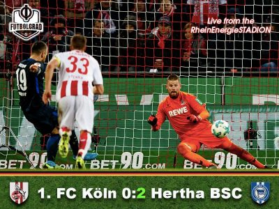 Köln v Hertha Berlin – Match Report