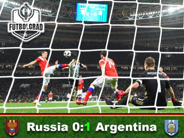 Russia v Argentina – International Friendly Match Report