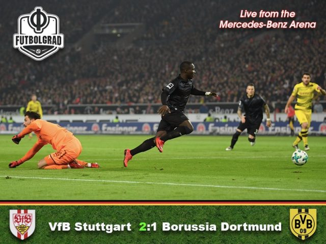 Stuttgart v Borussia Dortmund – Match Report