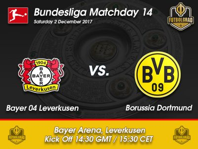 Bayer Leverkusen vs Borussia Dortmund – Bundesliga – Preview