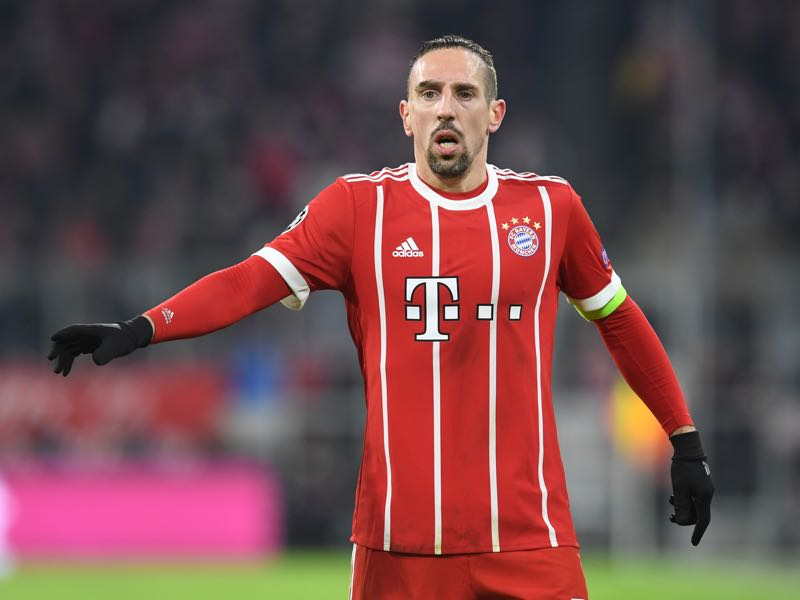 Frank Ribery will be Bayern's key player. (CHRISTOF STACHE/AFP/Getty Images)
