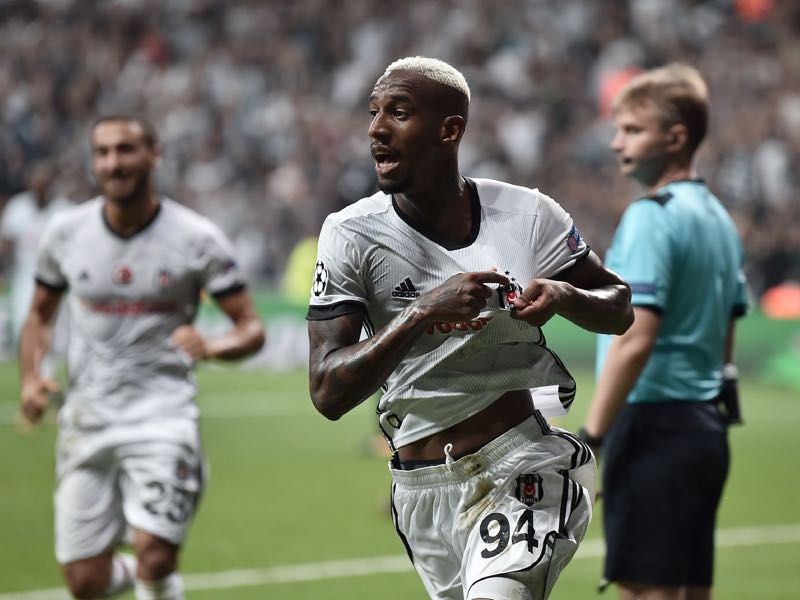 Talisca will be Besiktas' key player on Wednesday night. (OZAN KOSE/AFP/Getty Images)
