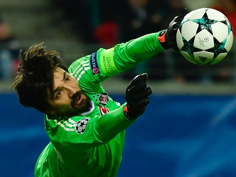 RB Leipzig v Besiktas - Tolga Zengin was the player of the match. (JOHN MACDOUGALL/AFP/Getty Images)