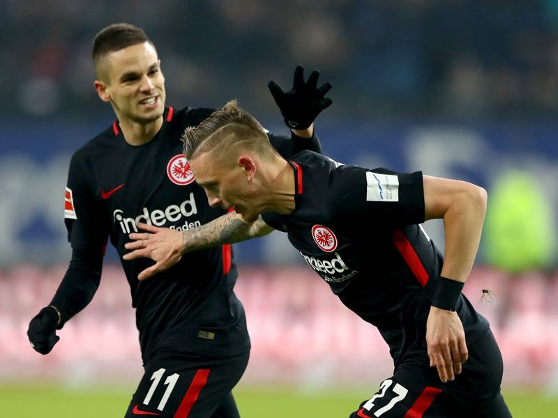 Hamburg v Eintracht Frankfurt - Marius Wolf was the player of the match. (Photo by Martin Rose/Bongarts/Getty Images)
