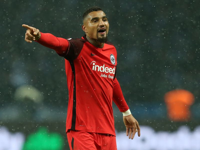 Kevin-Prince Boateng will be Eintracht Frankfurt's key player. (Photo by Matthias Kern/Bongarts/Getty Images)