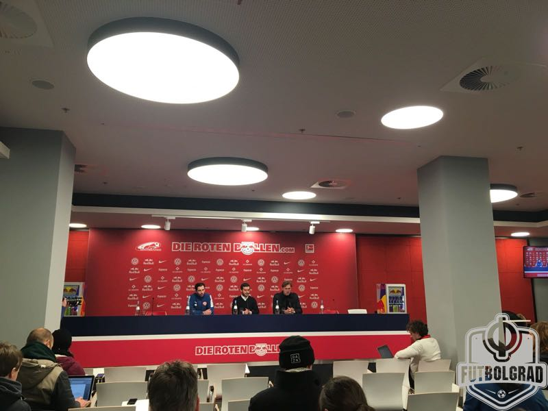RB Leipzig v Mainz - Press Conference (Manuel Veth/Futbolgrad Network)