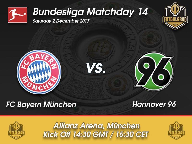 Bayern München vs Hannover 96 – Bundesliga – Preview
