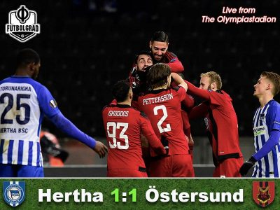 Hertha Berlin v Östersunds FK – Match Report