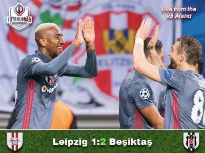 RB Leipzig v Besiktas – Match Report