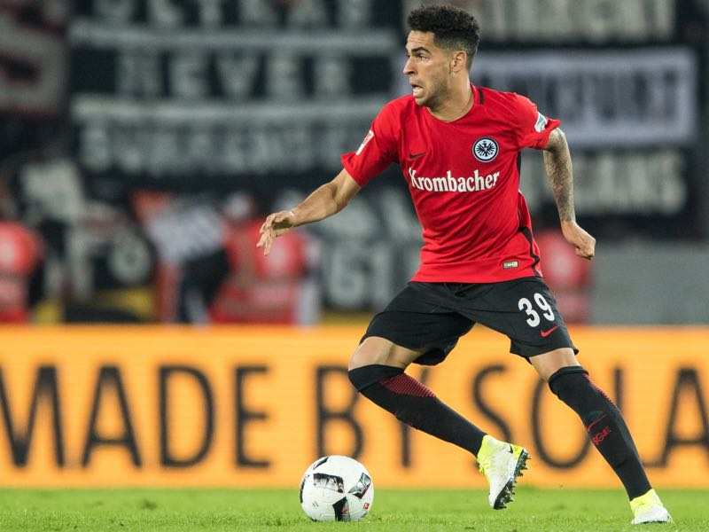 Omar Mascarell is Frankfurt's pivot player. (Photo by Lukas Schulze/Bongarts/Getty Images)