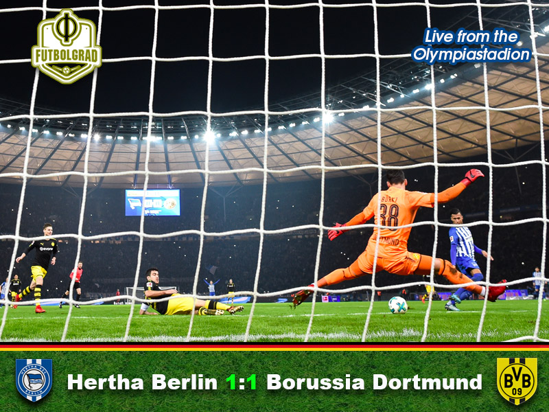 Hertha vs Dortmund – Match Report