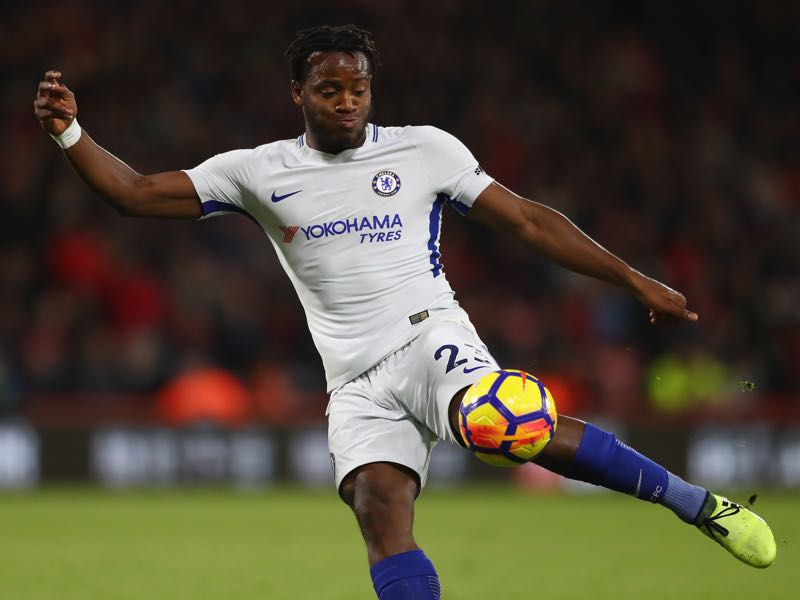 Micky Batshuayi will be loaned out by Dortmund from Chelsea until the end of the season. (Photo by Michael Steele/Getty Images)