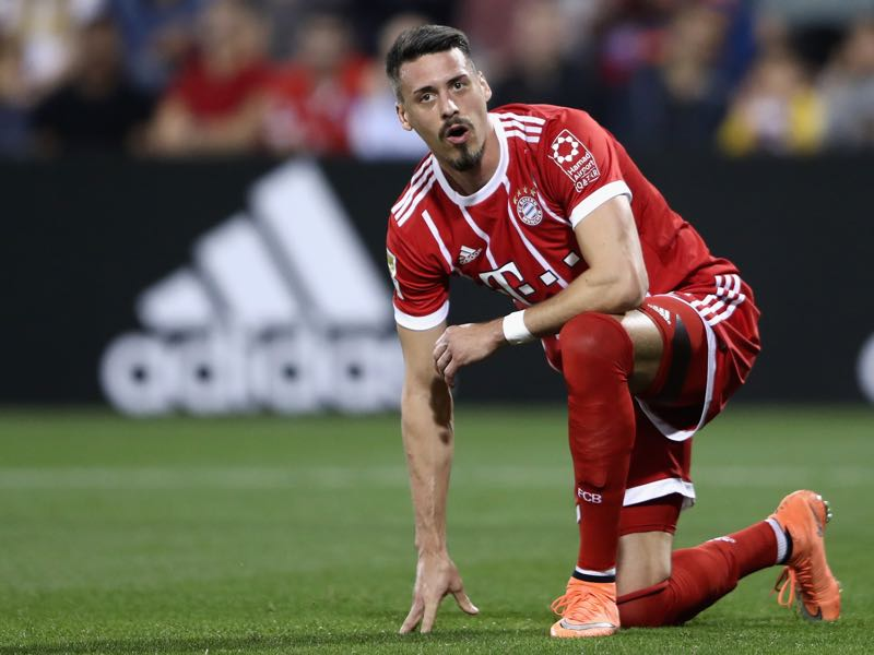 Sandro Wagner will make his Bundesliga debut for Bayern on Friday. (Photo by Alex Grimm/Bongarts/Getty Images)