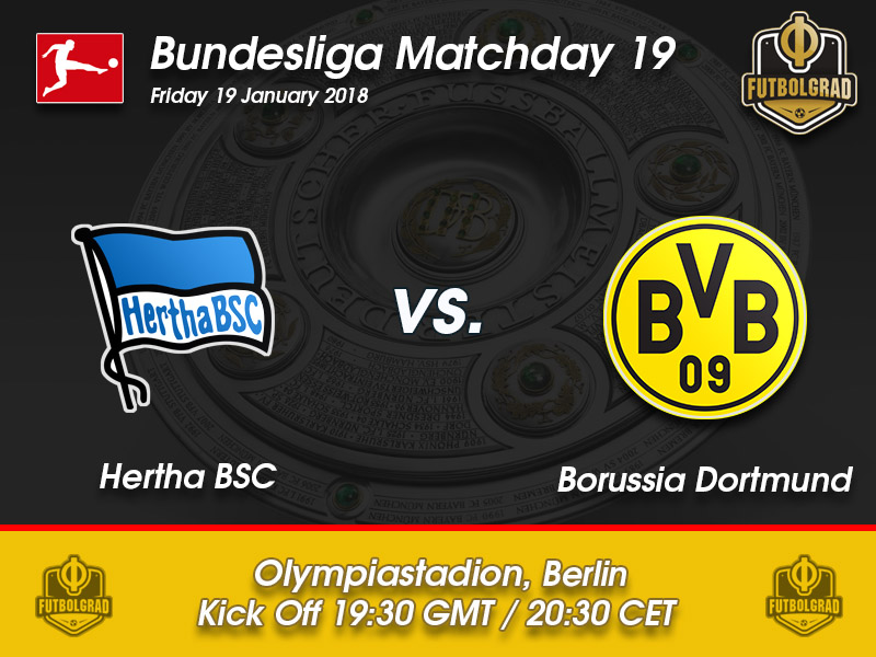 Hertha vs Borussia Dortmund – Bundesliga – Preview