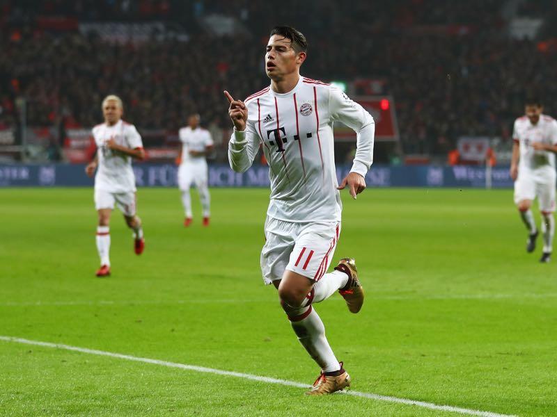 Bayer Leverkusen v Bayern - (Photo by Lars Baron/Bongarts/Getty Images)