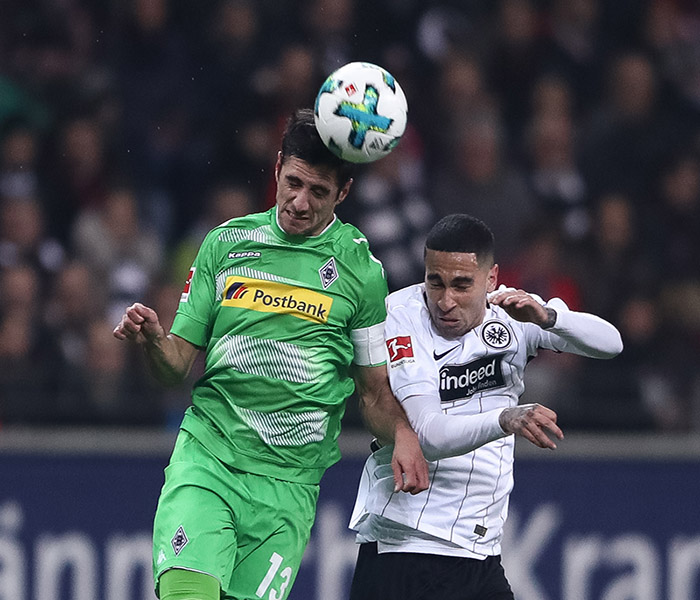 Eintracht Frankfurt vs Gladbach - Mascarell wins player of the match.